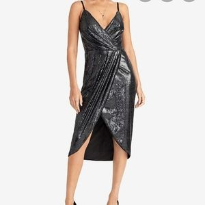 RACHEL Rachel Roy  Nisha Sequined Tulip-Hem Dress